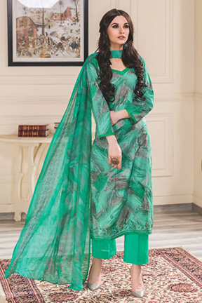 Rivaa Gunjan Stylish Fancy Embroidered Suits 747 A
