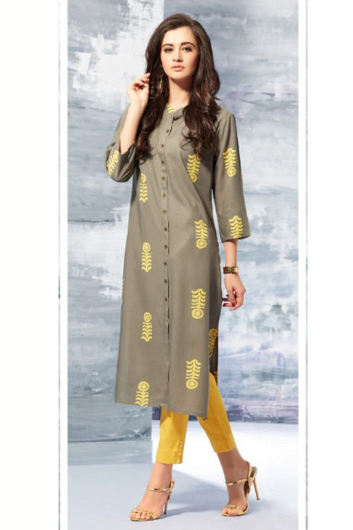 The Zest inYou Sheena Summer Designer Kurti 1003