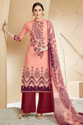 Alok Suit Pure Cotton Digital Style Designer Suit 198-003
