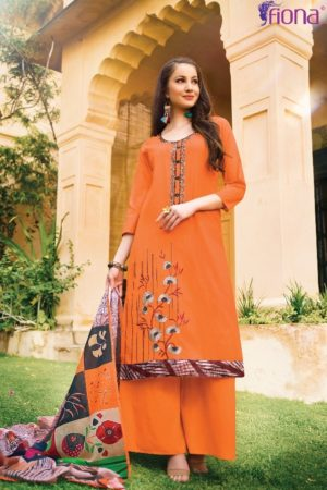 Buy Fiona Sundara Mal Dupatta Cotton Lawn With Embroidery Designer Suits 21976