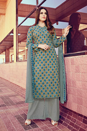 Hansa Hifsa Cotton Printed Suit 1005