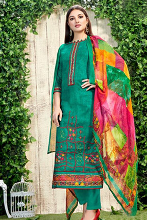 Alok Suit Suhani Pure Zam Cotton 197- 001