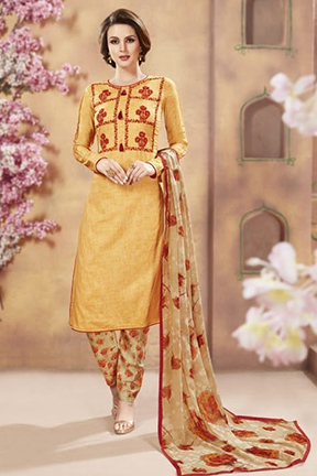 Ambica Essence Vol 9 Pure Cotton Cambric Suit 9203