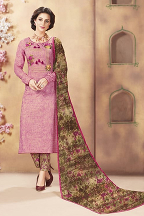 Ambica Essence Vol 9 Pure Cotton Cambric Suit 9209