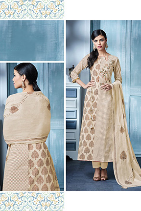 Jay Vijay Blaze 4 Cotton Suits 4146