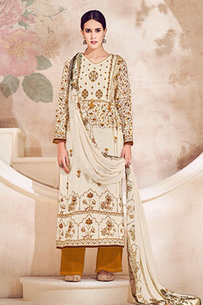 Karachi Prints Victoria Lawn Cotton Suits 1004