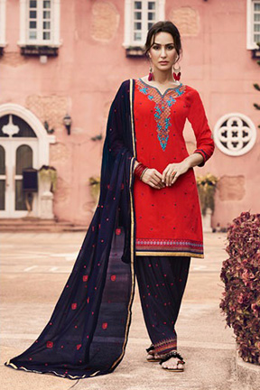 Kessi Fabrics Patiala House Vol-62 Cotton Suits 4107