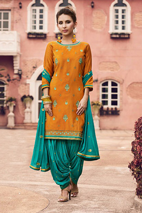 Kessi Fabrics Patiala House Vol-62 Cotton Suits 4109