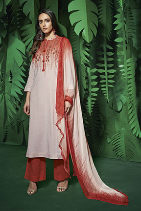 Sahiba Itrana Zunera Cotton Indian Salwar Kameez ZU-508