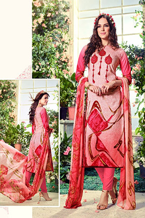 Belliza Designer Summer Fiesta Vol 4 Suit 132-006