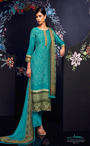 Buy Ganga Anoma Digital Printed Salwar Suits 6229