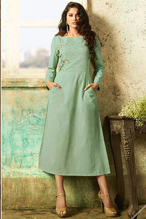 Buy Tucute Vol 9 Pure Cotton With Embroidery Suits 9005