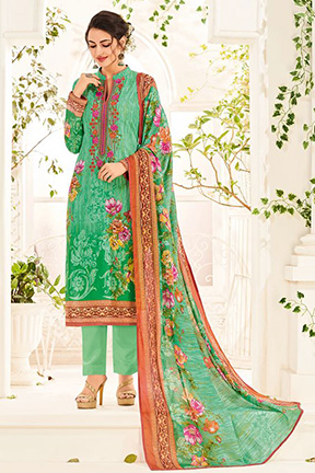 House Of Lawn Muslin Vol 12 Salwar Suit 1209