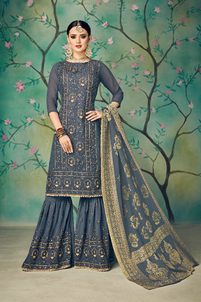 Kaara Suits Ruby Georgette Salwar Suit 13001