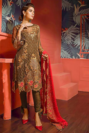 Shree Fab Faiza Luxury Vol 8 Salwar Suit 1163