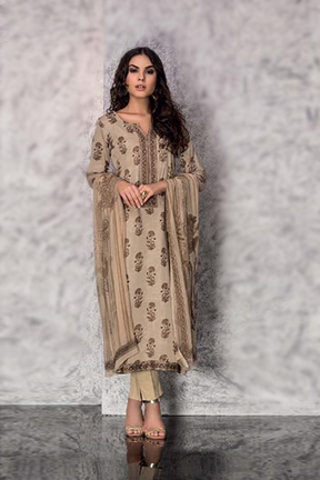 Tacfab Shireen Cotton Salwar Suit 1302 B