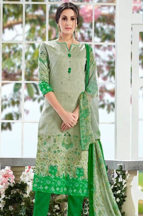 Alok Rangoon Pure Zam Cotton Suit 207005