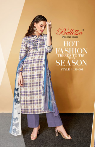 BelliZa Designer Studio Presents Adaa Salwar Suit 139-004
