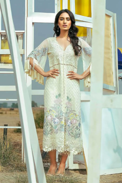 Buy Shree Embroidered Mariya B Vol 5 Georgette with Heavy Embroidery Suit 5025