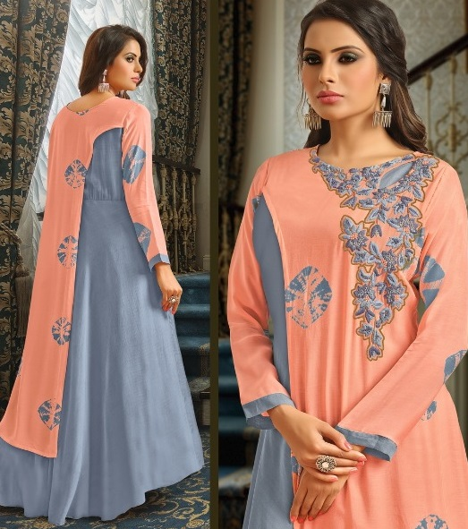 Buy Suhati Fab Myra Vol 5 Gown Collection 54001