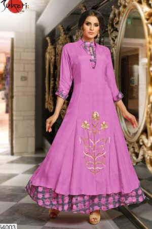 Buy Suhati Fab Myra Vol 5 Gown Collection 54003