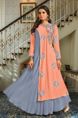 Buy Suhati Fab Myra Vol 5 Gowns Collection 54001