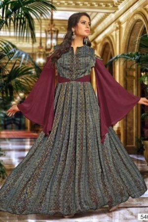 Buy Suhati Fab Myra Vol 5 Gowns Collection 54009