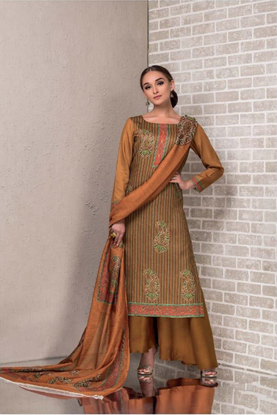 Buy Tacfab Avani Cotton Satin Digital Print Suits TR 1170
