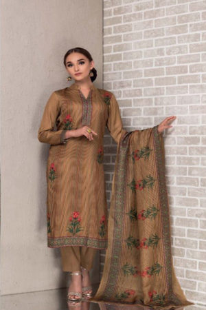 Buy Tacfab Avani Cotton Satin Digital Print Suit TR 1176