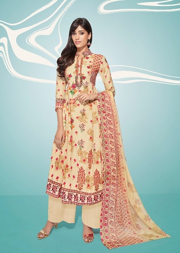 Deepsy Attraction 2 Pure Cotton Print with Original Handwork Suits 2005