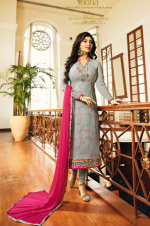 Fiona Ayesha georgette with heavy embroidery Salwar Suit 22052
