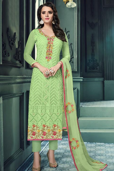 Keasri Trendz Aarushi Vol 11 Georgette with embroidery suit B