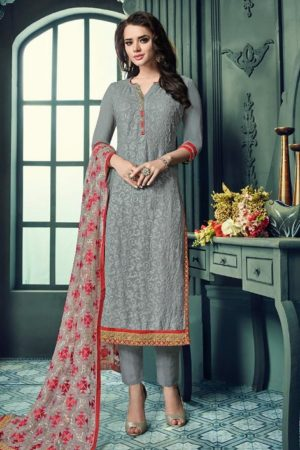 Keasri Trendz Aarushi Vol 11 Georgette with embroidery suit C