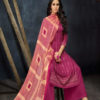 Angroop Plus Alveera Pure Jam Silk Salwar Suit 010