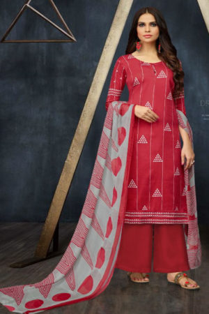Angroop Plus Alveera Pure Jam Silk Salwar Suit 016