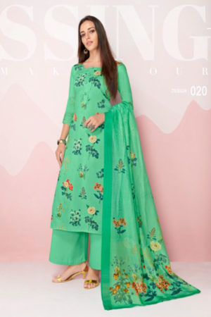 Angroop Plus Organic With Pure Dupatta Salwar Suit 020