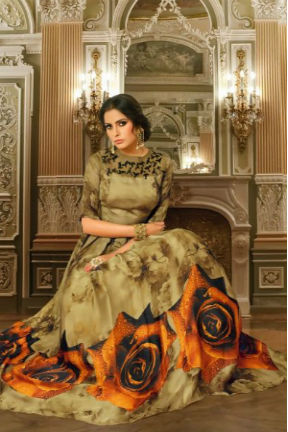 Buy Suhati Fab Myra Vol 5 Gown Collection 54004