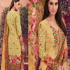 House of Lawn Muslin Pure Jam Satin Digital Style Print Suit 102
