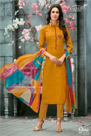 Kalakriti Sarah cotton with embroidery suits 2008