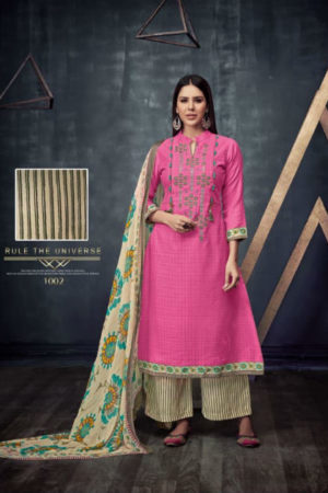 Kesar Sonam Bajwa Pure Pashmina With Elegant Embroidery Suit 1002