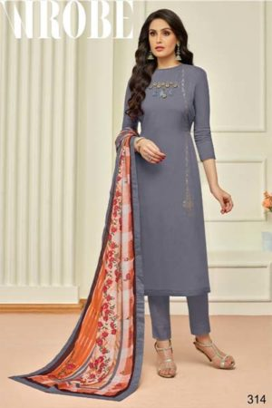 Moof Penny Maslin digital print with work suits 314