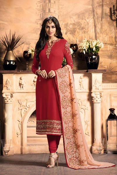 Rellisa Melissa Georgette With Heavy Embroidery and Hand Work Suit 2101