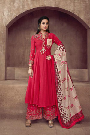 Sajawat Creation Sarthi Vol 2 Pure Heavy Maslin With Embroidery Suit 512
