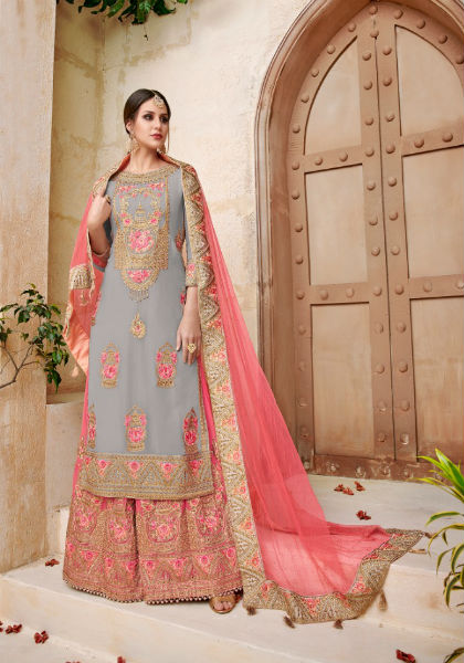Shree Fabs Shehnai Bridal Collection Vol 11 Georgette With Heavy Embroidery Suit 6037