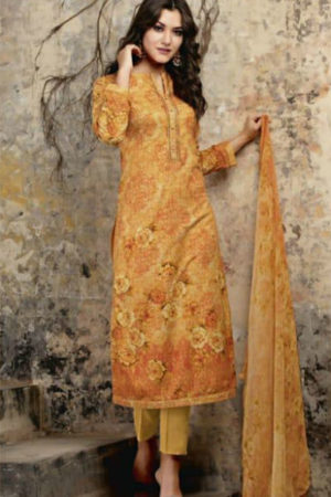Sudriti Nirvisha Article Butti Digital Print With Embroidery Suit 735