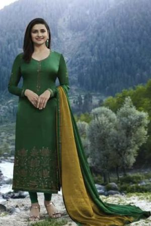 Vinay Fashion Kaseesh Evershine Pure Satin With Work Suits 7981