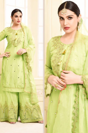 Your Choice Adaa Jam Silk Cotton Semi Stitched Suits 2954