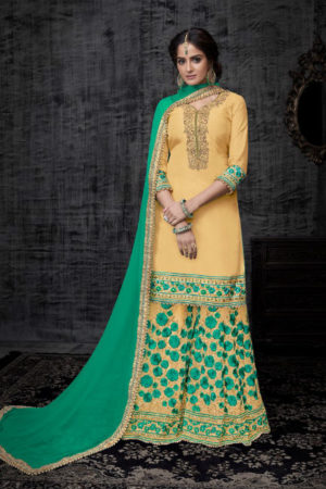 Shree Fabs Shehnai Bridal 13 Pure Viscose Opada Silk Semi Stitched Suit 2004