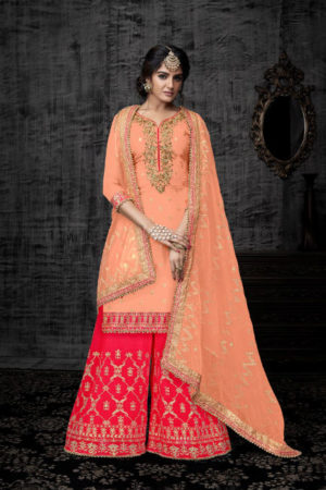 Shree Fabs Shehnai Bridal 13 Pure Viscose Opada Silk Semi Stitched Suit 2007