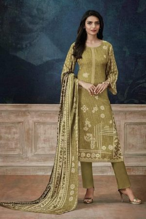 Buy Omtex Celebraze Pashmina Digital Print with work Salwar Suit 365
